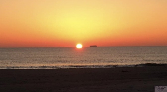 Focus: Shipping Out at Sunrise in Sea Bright