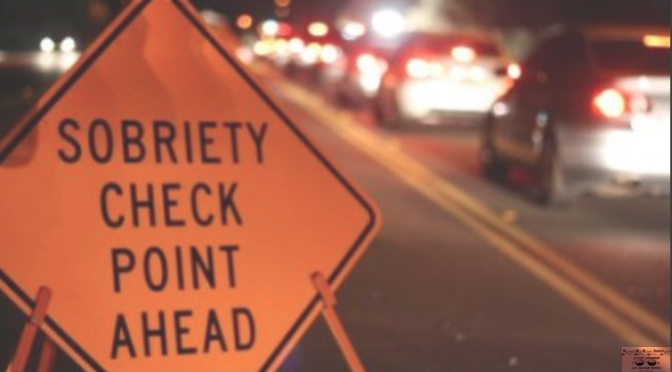 Area DWI Checkpoint Friday