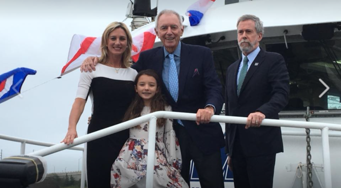 Scene Around: Marine Research Vessel Dedicated to Memory of Rumson's Heidi Sculthorpe