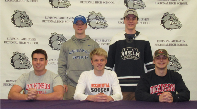 RFH Student Athletes' Letter of Intent Signings