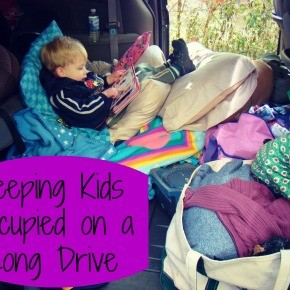 Keeping Kids Occupied on a Long Drive