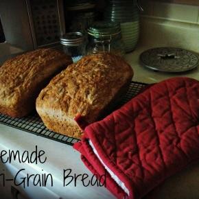 Homemade Multigrain Bread