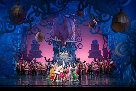 Cincinnati Ballet dancers