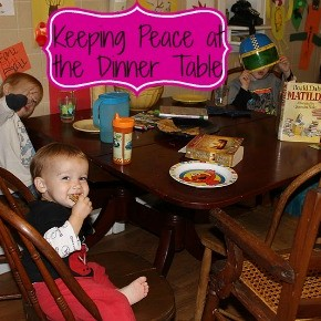 Keeping Peace at the Dinner Table
