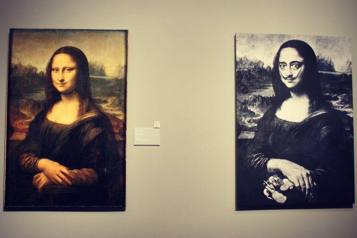 The Dali Museum Mona Lisa