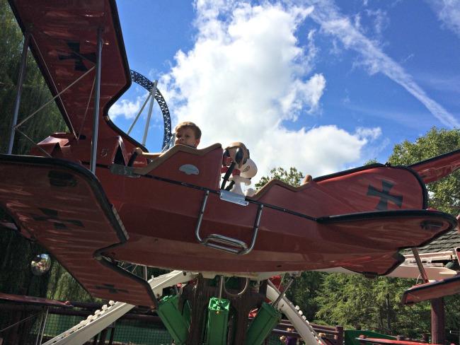 Cedar Point Red Baron
