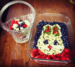 Easter Bunny Fruit Salad 1