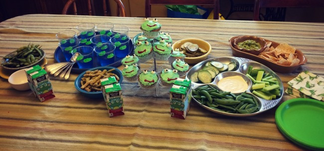 Frog Party Food