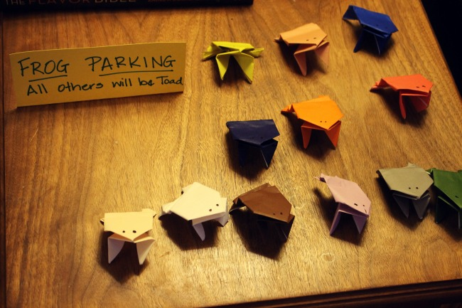 Frog Party Parking
