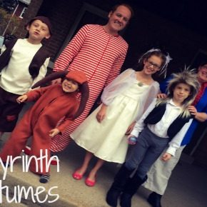 Labyrinth Costumes for the Whole Family