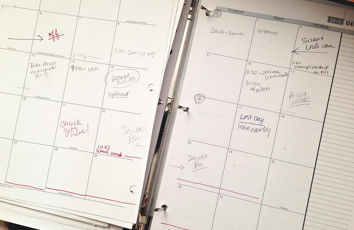 TBT December calendar 2010