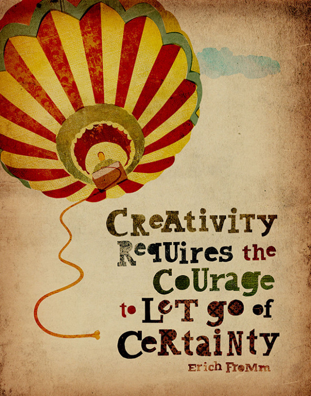 creativity and courage