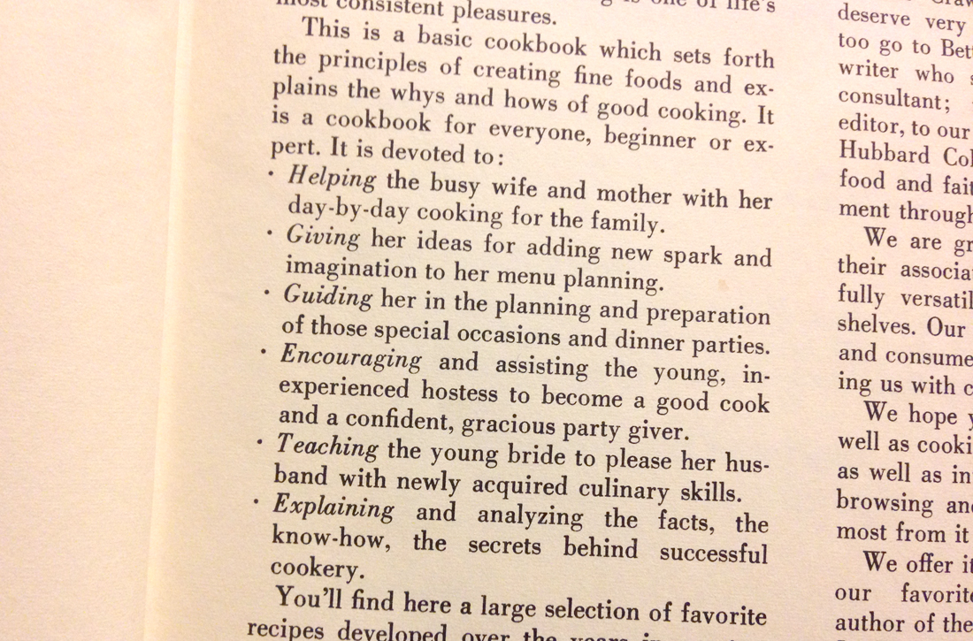 Cookbook for her