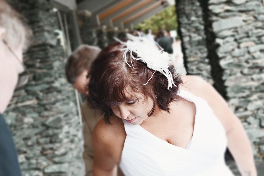 Tami's wedding day