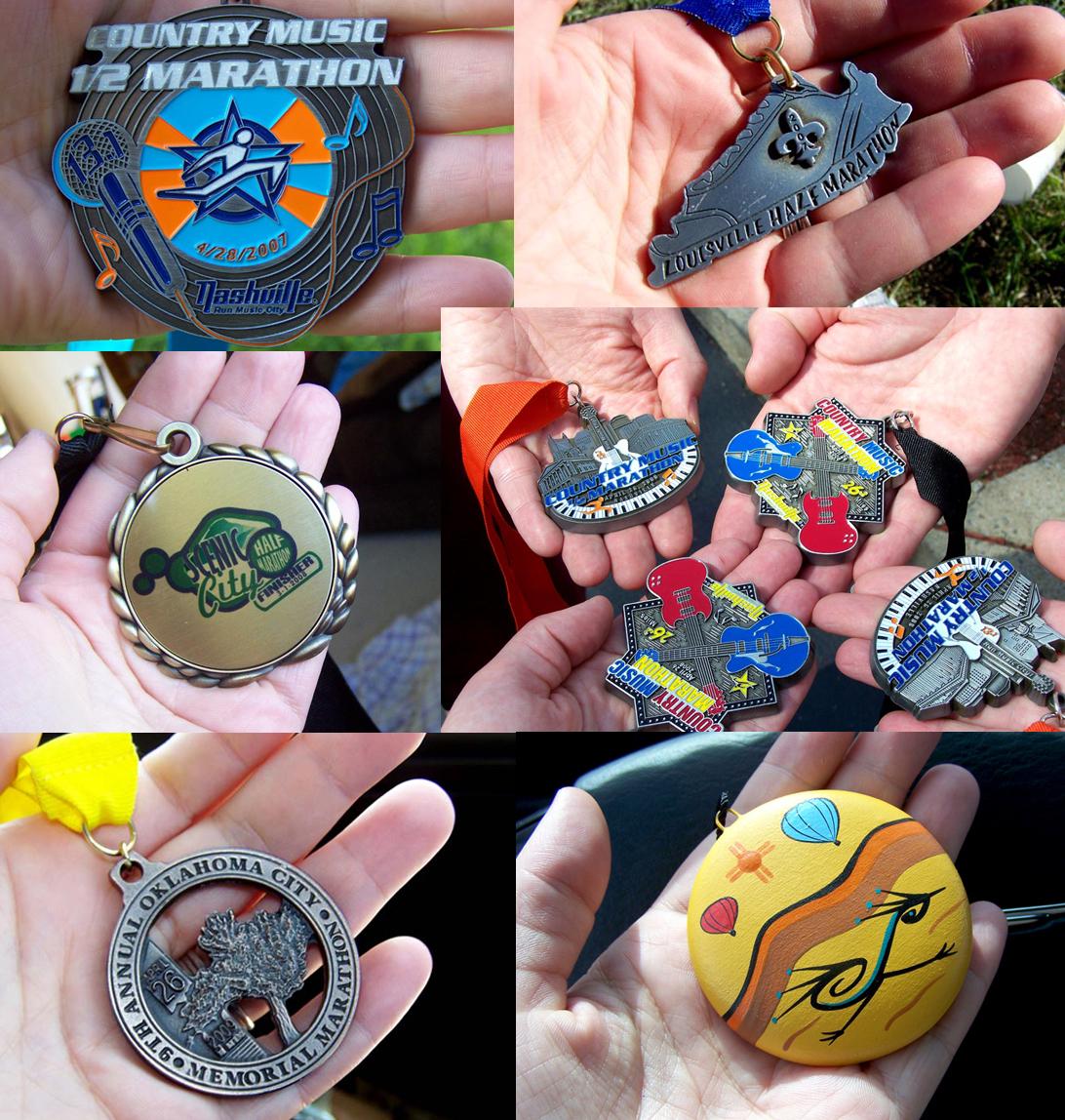 medals 2007-2009