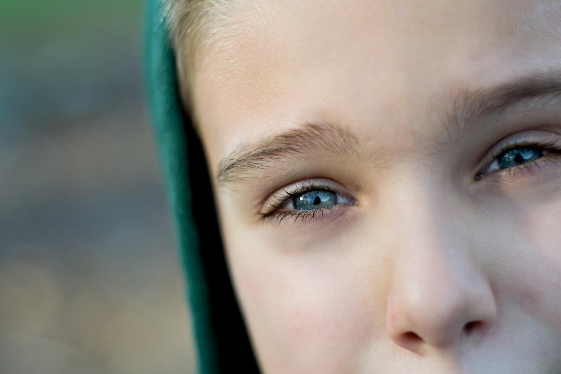 Jackson's eyes