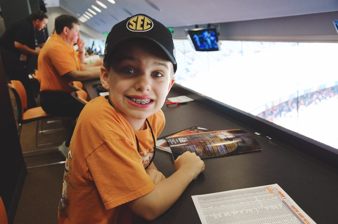 Jack in the press box
