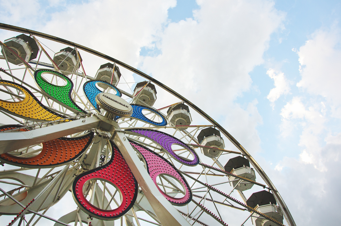 Ferris Wheel from below