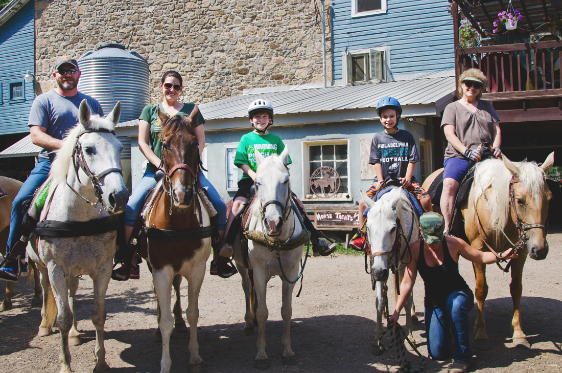 Horseback riding in Philly