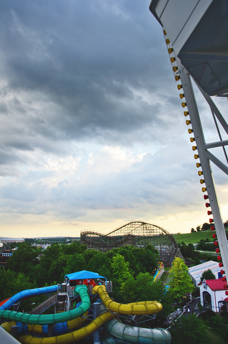 Over Hershey Park
