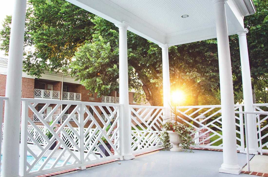 Porch sitting