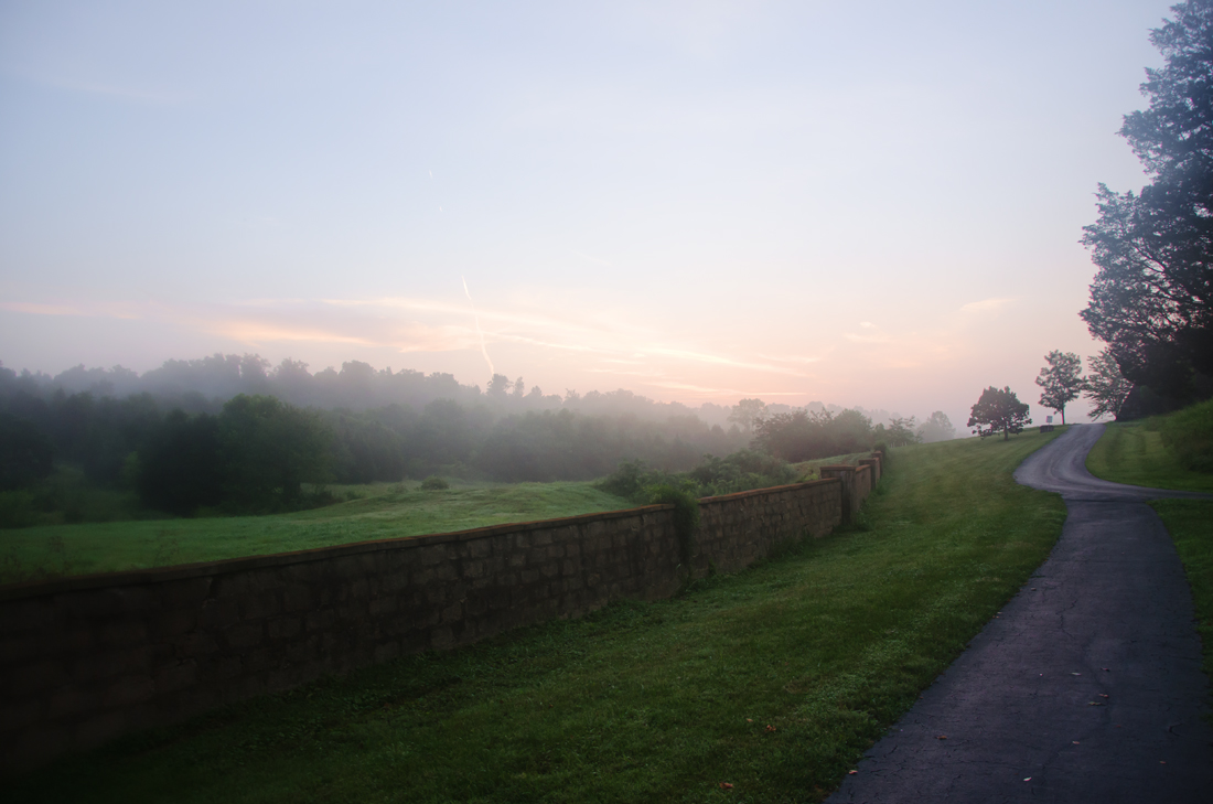 Sunrise over the Abbey