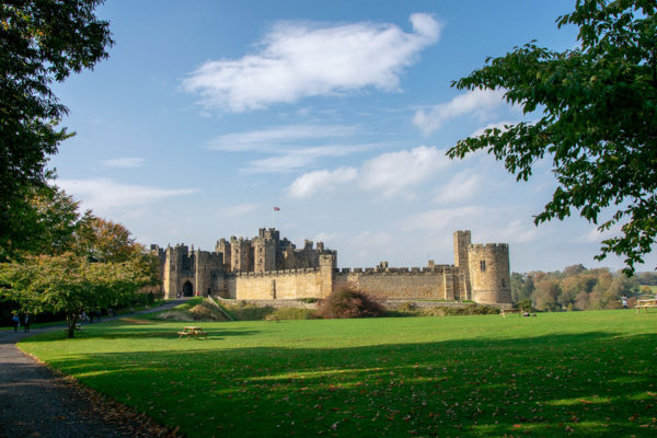 The UK Trip: Day 6 in Northern England, Alnwick Castle, and Bamburgh Castle by the sea