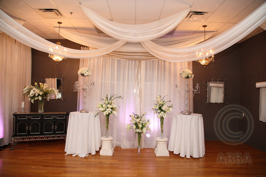 Crystal Ballroom wedding ceremony Casselberry