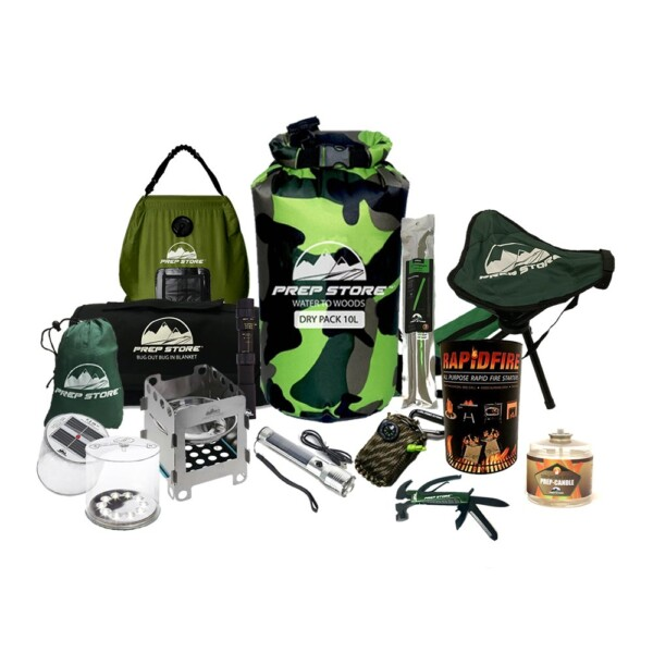 Companion Emergency Pack – Survival Kit – Bugout Bag – Hurricane Emergency Kit – Survival Bag