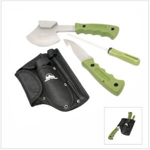 Hatchet and Skinning Knife Combo