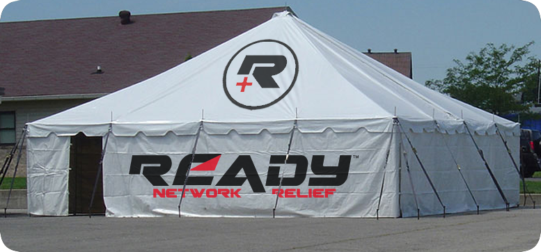 Ready Network Relief - Disaster Response Staging Area