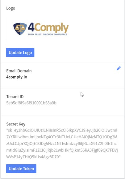 comply configuration
