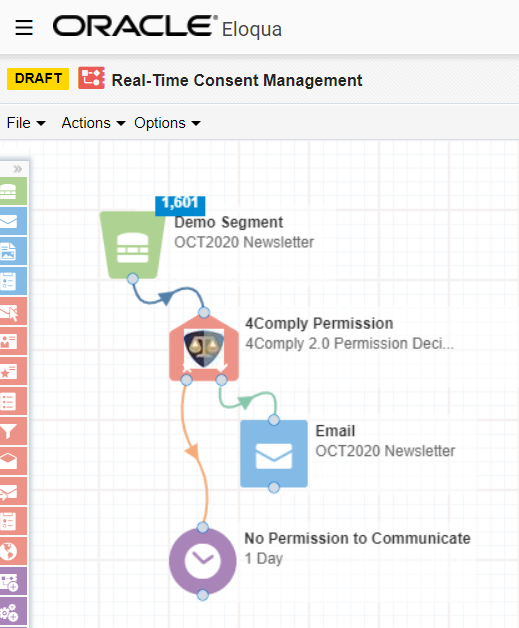 real-time consent management with oracle eloqua demo