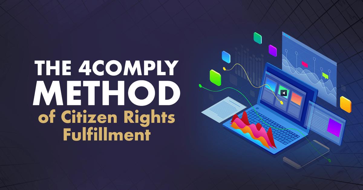 4comply citizen rights fulfillment dsar