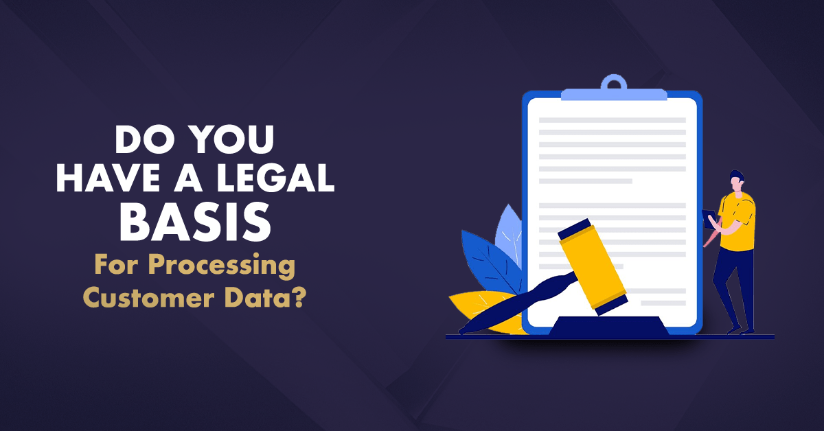 legal basis for processing