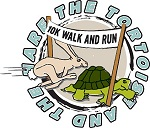 tortoise and the hare 10k logo