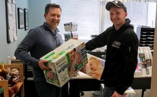 Donation Delivery to the Montgomery County Family Justice Center
