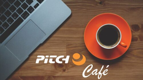 Join us online at the Pitch Café...