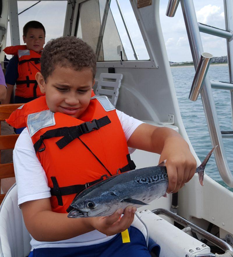 Near shore fishing is in full swing.