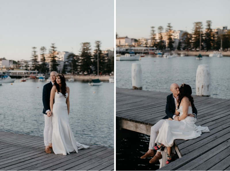 Manly Beach Wedding Photography