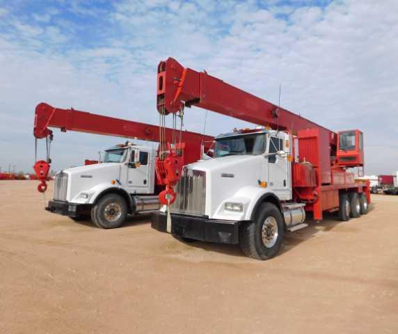 2-2013-Kenworth-T800-Crane-Trucks-w-QMC-7060RS-Cranes-Yd-2