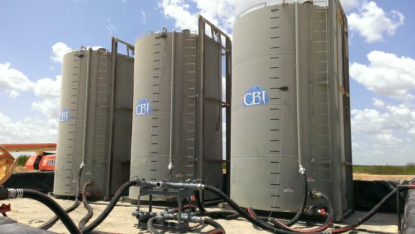 400 BBL Flow Back Tanks (Small)