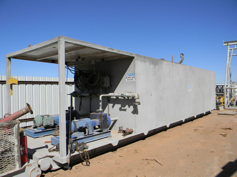 Water Tank - Rig 29 – DY1 YD1
