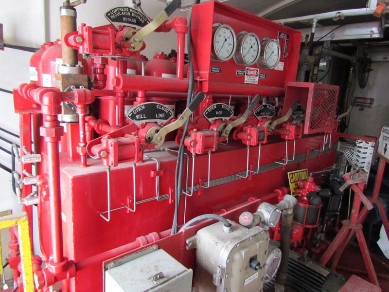 CHILES 5-Station - Rig 59 – DY2 YD7