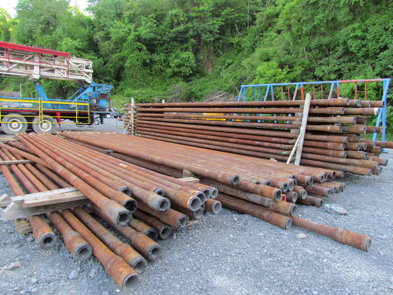 """5,638' of 4-1/2"""" G-105 DWB Drill Pipe – DY1 YD2"""