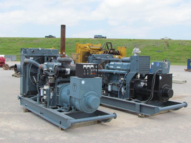 STAMFORD 350 & 325KW / DETROIT Series 60s