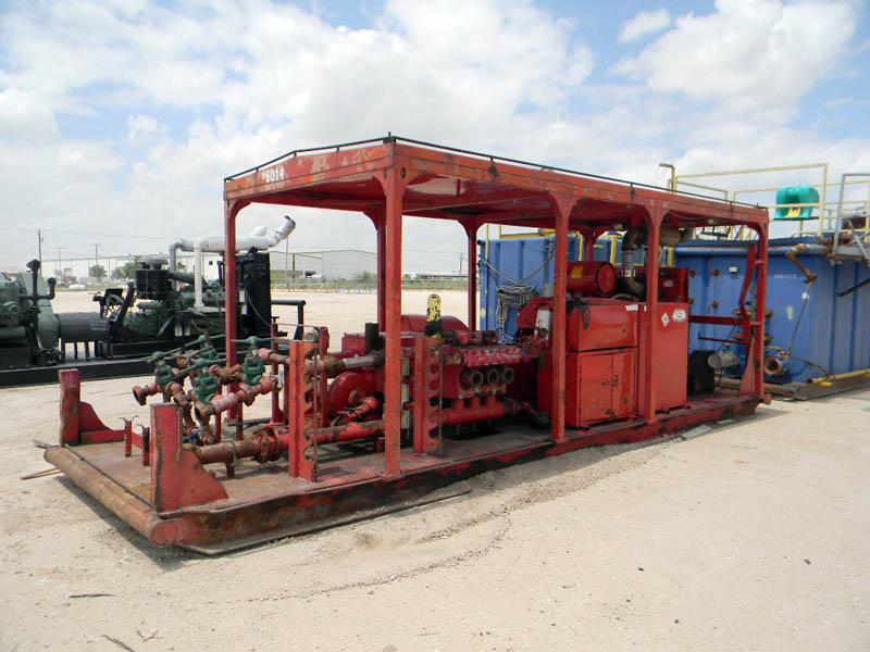 NATIONAL JWS-340 Triplex Pump – DY1 YD1