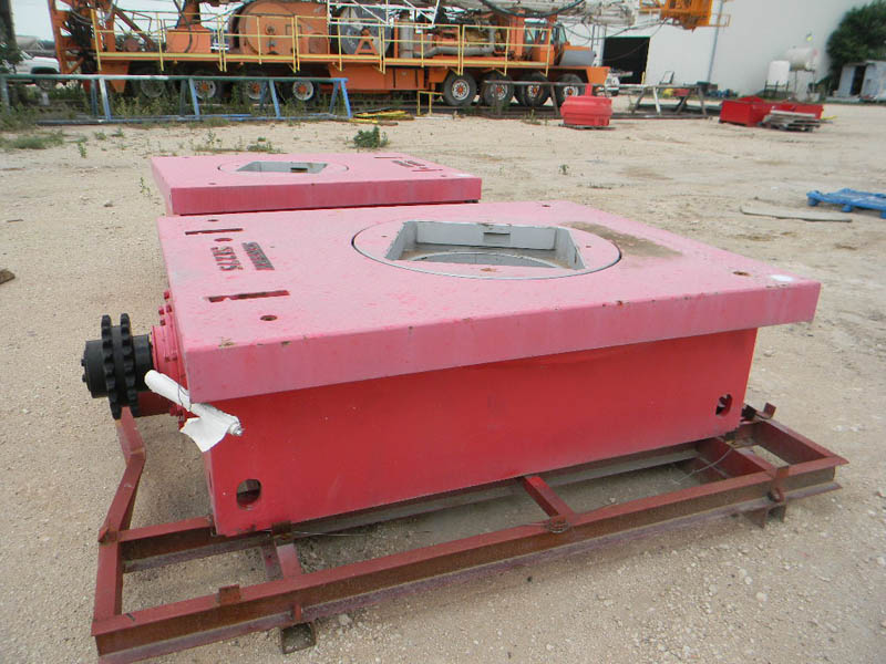 (2) SENTRY Rotary Tables UNUSED!– DY2 YD1