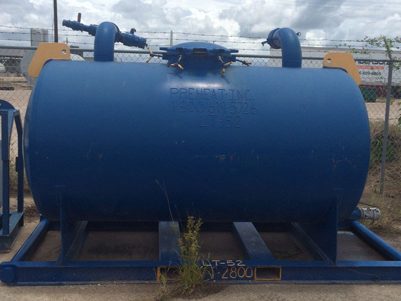 25-Bbl Vacuum Tank for Rig Vac Unit