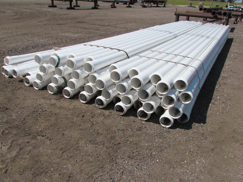 """(202 Jts) 6"""" 1.50# PVC Surface Pipe - NEW"""